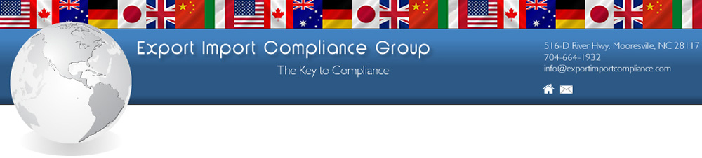 Export Compliance Manual Template |